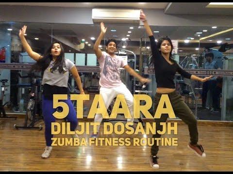 5Taara - Diljit Dosanjh | Zumba Routine | StepKraft