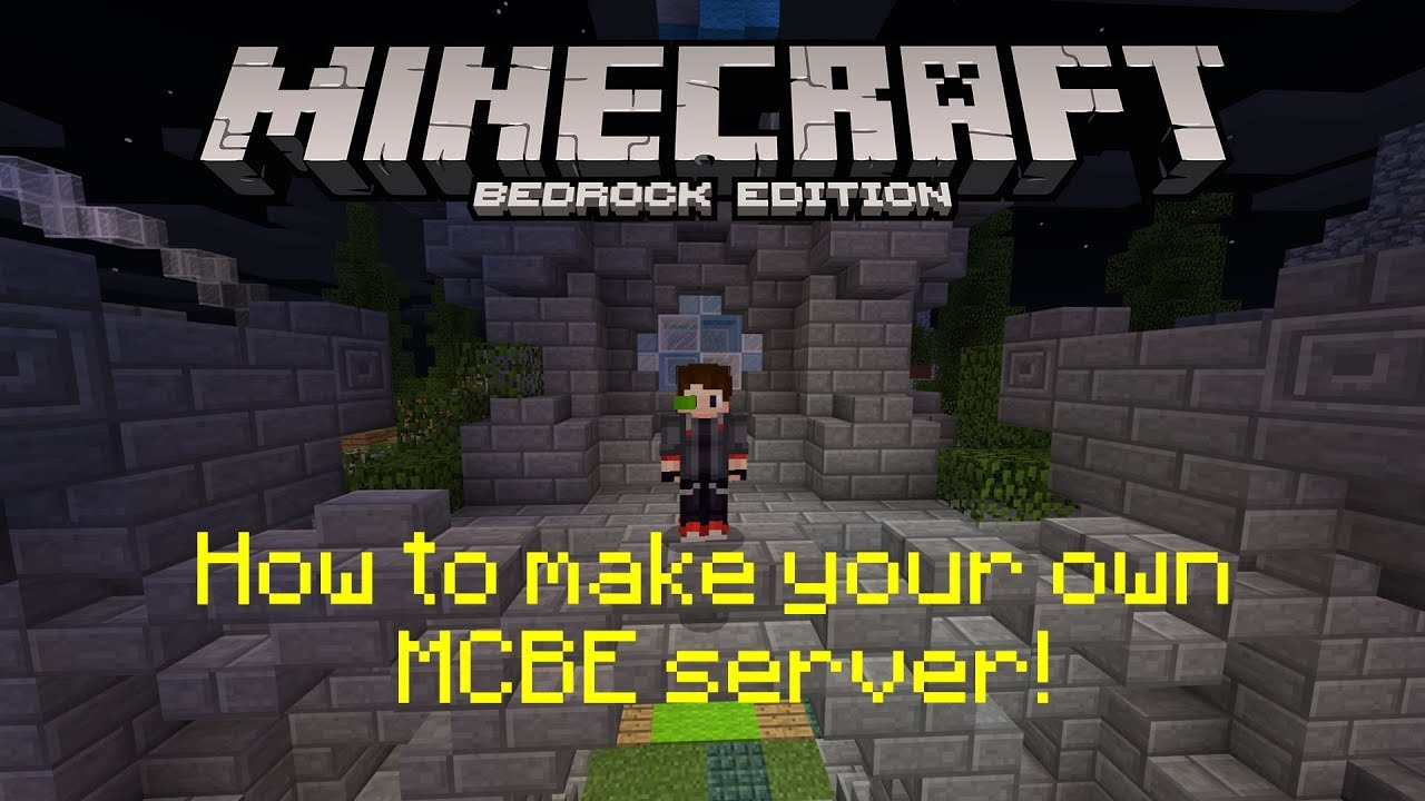 How to make a Minecraft Bedrock Edition (MCPE) server for $4 a month  [episode 1] | Getting started
