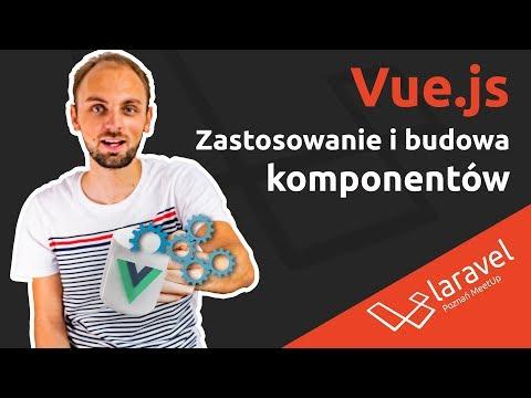 Vue.js - Zastosowanie i budowa komponentów - Amadeusz Kozłowski, HighSolutions thumbnail
