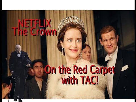 THE CROWN  Claire Foy John Lithgow Stephen Daldry  The Netflix hit  is discussed