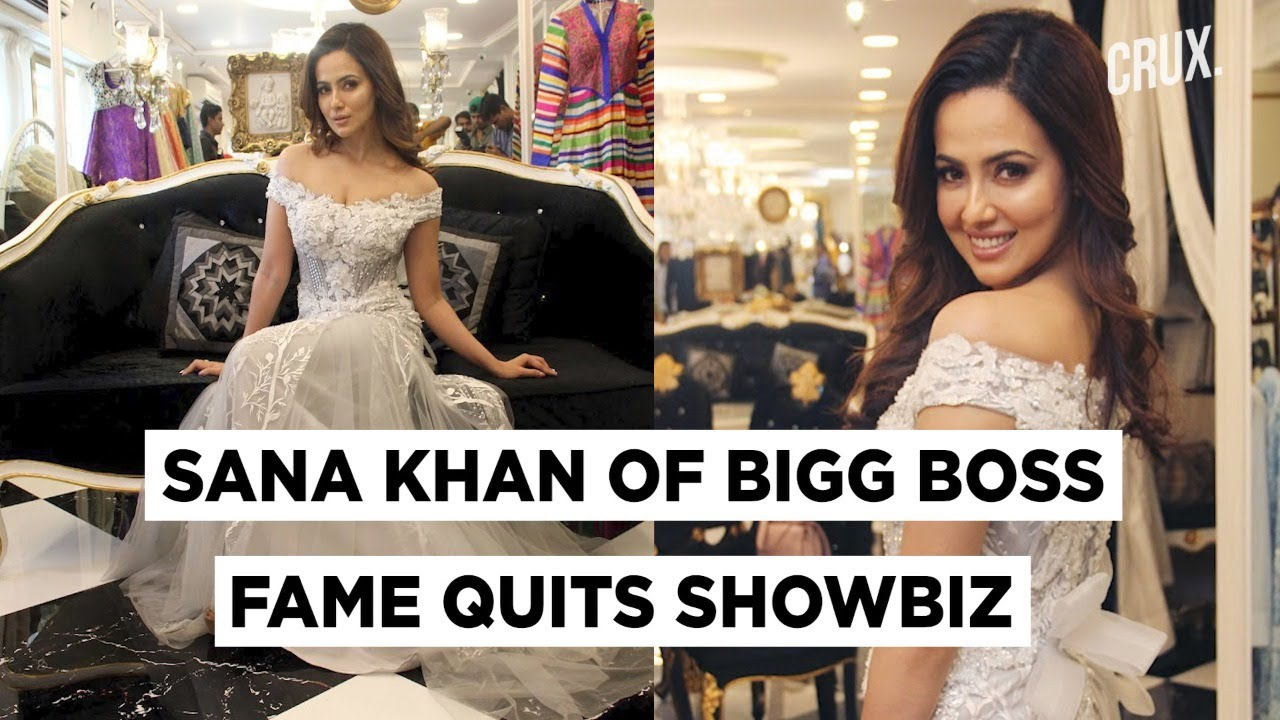 Sana Khan Quits Showbiz Forever to 'Spend Life Serving Humanity'