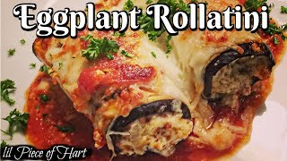 How to make Eggplant Rollatini | LOW CARB