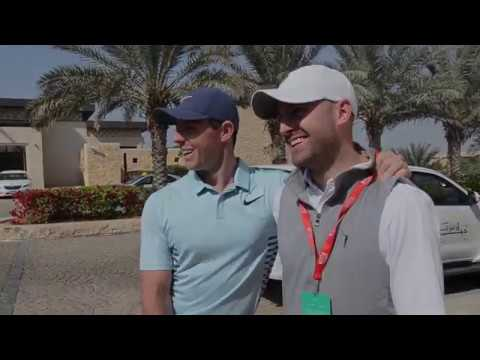 Rory McIlroy on camels and course set up in Abu Dhabi