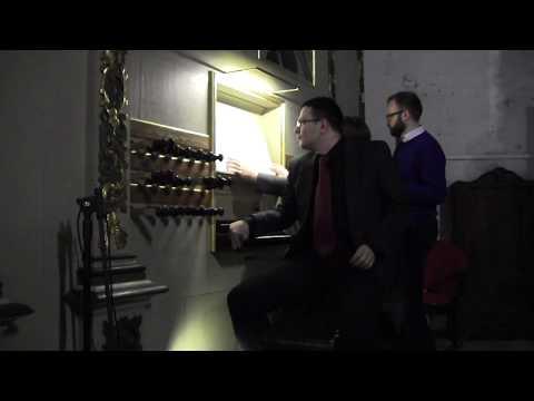 1719 Hildebrandt Organ In Paslek (Poland) (Part 1 Of 2)
