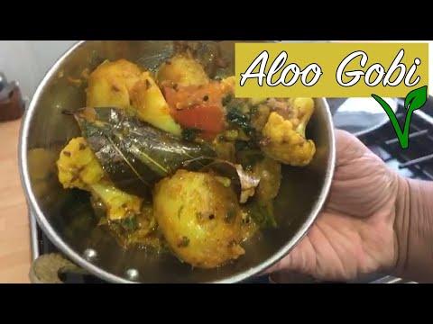 How To Make Aloo Gobi at home! Potato & Cauliflower! Restaurant Quality! Vegetarian – Vegan Recipe!
