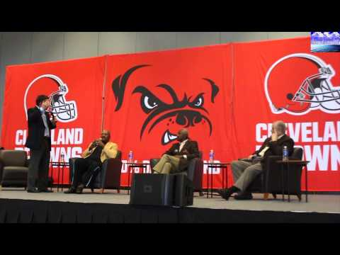 Jim Brown & Paul Warfield talk 1964 Championship with Jim Donovan Part 2 (Browns Fan Fest 2015)