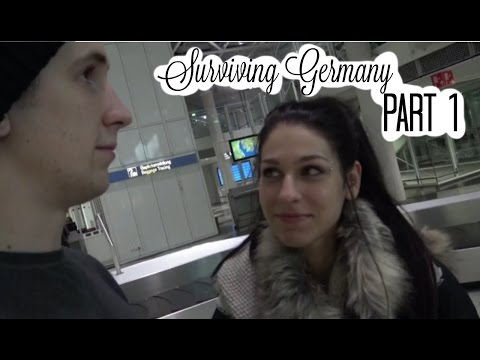 Surviving Germany Pt 1: Travel, Finding Food, My First Breakfast