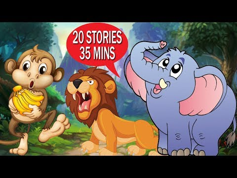 🐘🐵🐦20 Best Short Stories Collection | Story Time | English Stories for Kids with Morals |