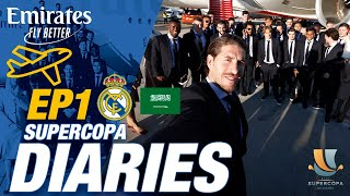 Fly with Sergio Ramos and Real Madrid! | ACCESS ALL AREAS on the EMIRATES flight to Jeddah