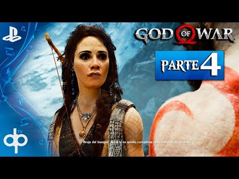 GOD OF WAR 4 PS4 Parte 4 Gameplay Español PS4 PRO | ALFHEIM en Busca de la Luz  (God of War 2018)