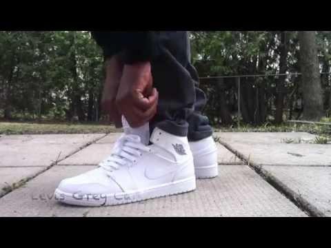 3acc3bec69148e Nike Air Jordan 11 Low White Red Review - YouTube