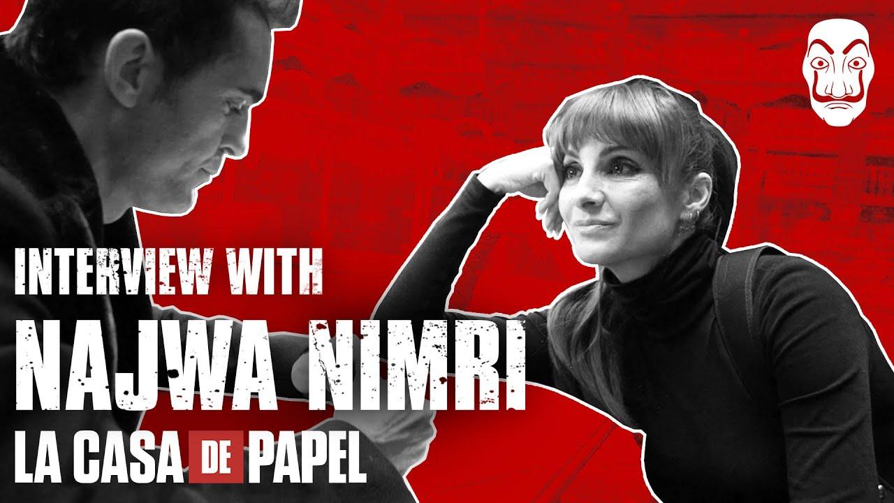 La Casa de Papel | Entrevista con Najwa Nimri | Netflix