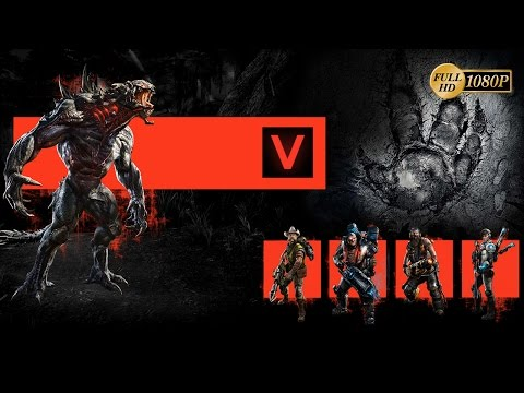 Evolve Gameplay Español Parte 1 - Modo Evacuación 5 dias online vs Goliath (PC PS4 Xbox One)
