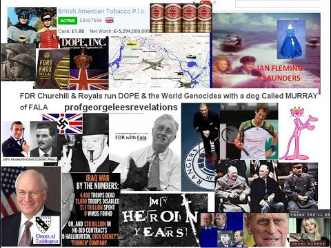 FDR Churchill Royals run DOPE & the World Genocides with a dog FALA