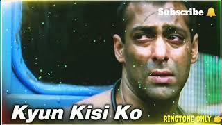 Log Ishq Mein Kya Se Kya Hue ringtone// Tere Naam film ka ringtone// sad ringtone// new ringtone