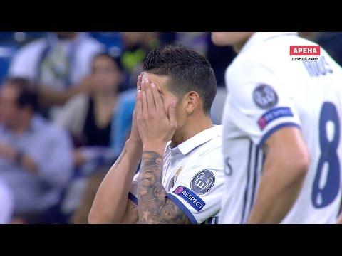 James Rodriguez vs Legia Warsaw (Home) 16-17 HD 1080i
