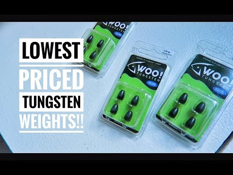 These Tungsten Weights are Priced CHEAP!!