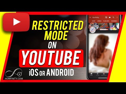 How To Turn On Or Off YouTube Restricted Mode On IOS & Android