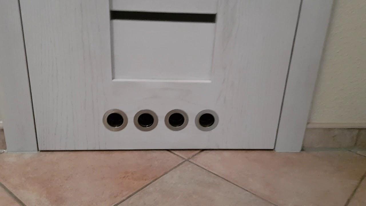 Wentylacja Przy Drzwiach łazienkowych Otwory