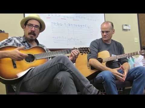 Open D Minor Tuning - David Hamburger and Sam Swank - Acoustic Music Camp