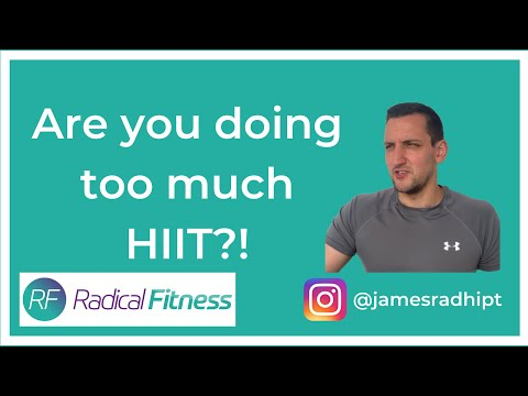 Are You Doing Too Much HIIT?!
