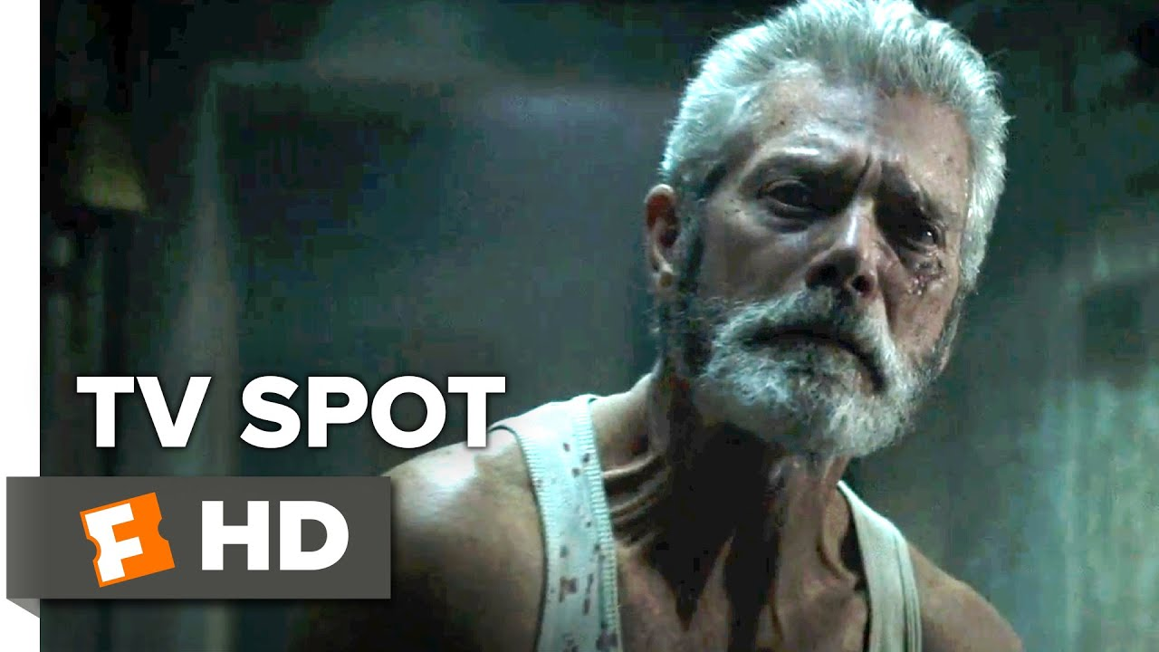 Dont Breathe TV SPOT Exhale Stephen Lang Movie
