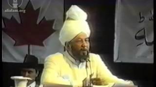 Jalsa Salana Canada 1991 - Concluding Address by Hazrat Mirza Tahir Ahmad, Khalifatul Masih IV(rh)