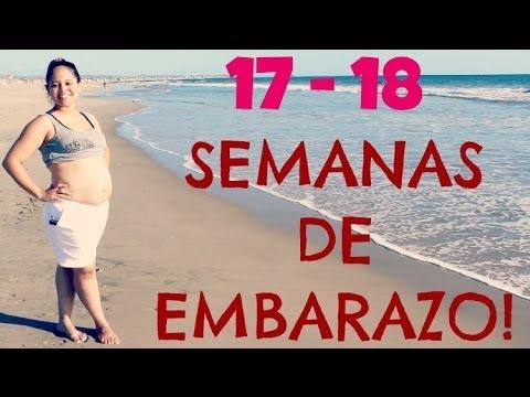 17 y 18 semanas de embarazo 4 meses de embarazo segundo trimestre youtube - 4 meses de embarazo ...