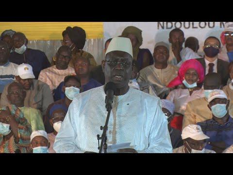 Macky Sall sur la colère des habitants de Ndoulou Madji: Je m'excuse pour cette impondérable..