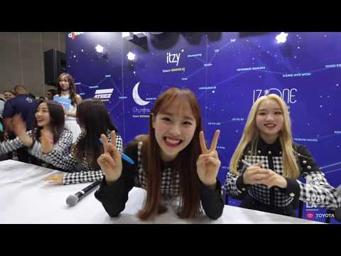 [#KCON19LA] Fancam 직캠 - Star Square M&G With LOONA!
