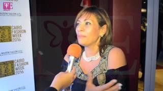 خاص بالفيديو.. 'ماري لوي' تكشف عن مجموعتها الملكية بأسبوع الموضة المصري