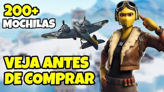 NEW SKIN CELERITY FORTNITE SKIN RAPTOR FEMALE & 200 BACKPACKS | SKIN COMBOS AND RUCKSACK FORTNITE