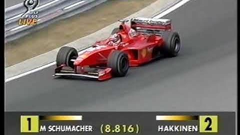 """Formel 1 GP Ungarn 1998  live (deutsch) - Super Schumi - """"Ein Grand Prix für die Ewigkeit"""" TEIL 3"""