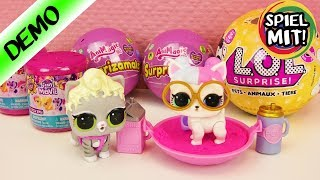 ÜBERRASCHUNGEN auspacken deutsch LOL Surprise Pets | AniMagic Surprizamals | My little Pony Squishys