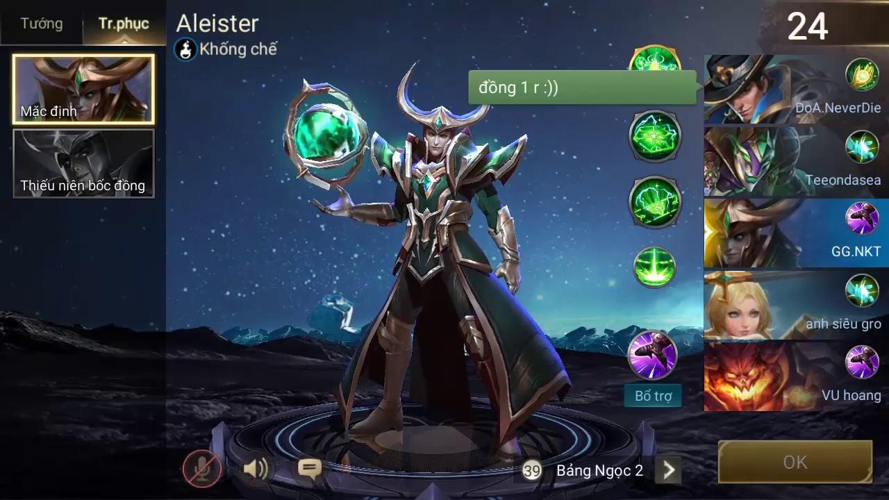 MVP VỚI TƯỚNG ALEISTER - ÁC THẦN XẢO QUYỆT | Liên Quân Mobile