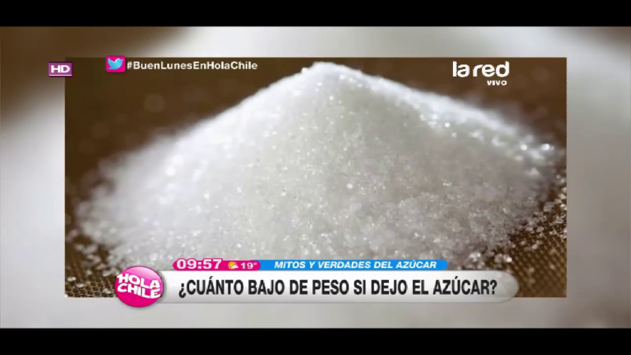 ¿cuánto peso pierde si abandona el azúcar