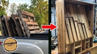 WATCH This Before Woodworking With PALLETS!