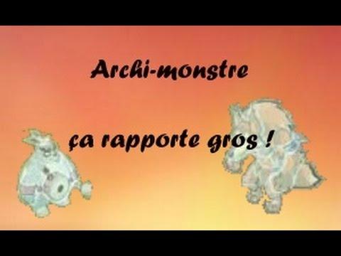 Dofus les archi monstre a rapportent ile du grobe 2 2 for Archi monstre