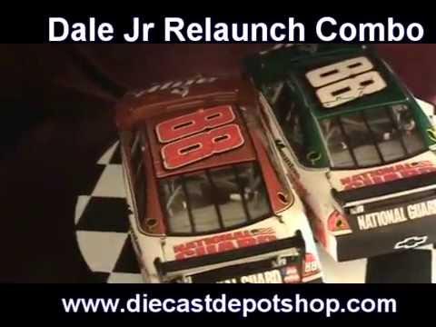 Dale earnhardt jr 2008 amp energy amp relaunch 2 car - Diecastdepotshop ...