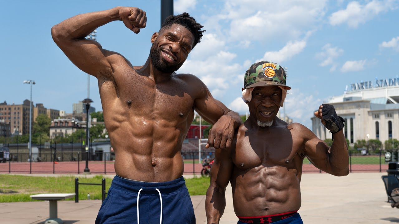Can URL Rap Legend LOADED LUX do 50 Pull ups and 100 Push ups in under 5 minutes?