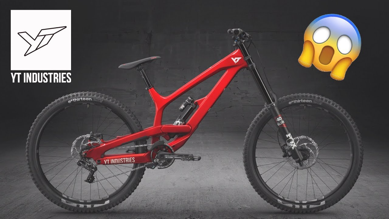 new YT INDUSTRIES downhill bikes (TUES) for 2019 [4K