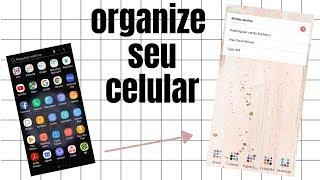 Personalizando o Galaxy S9 // CELULAR Organizado e Bonito