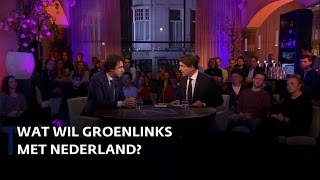 Wat wil GroenLinks met Nederland? Jesse Klaver in Nieuwsuur
