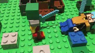 Ultimate Lego Minecraft Hunger Games 14 Part 3: Survival of the Fittest