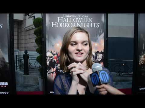 Halloween Horror Nights  with Kerris Dorsey
