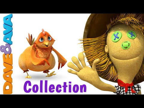 Head Shoulders Knees and Toes Collection | Nursery Rhymes for Children by Dave and Ava