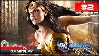 DC Universe Online Gameplay - First Mission (Episode 2) PC