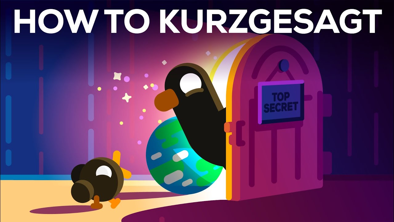 How to Make a Kurzgesagt Video in 1200 Hours