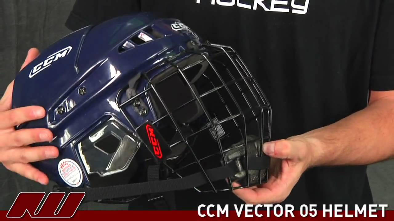 626bc80525a CCM Vector 05 Helmet - YouTube
