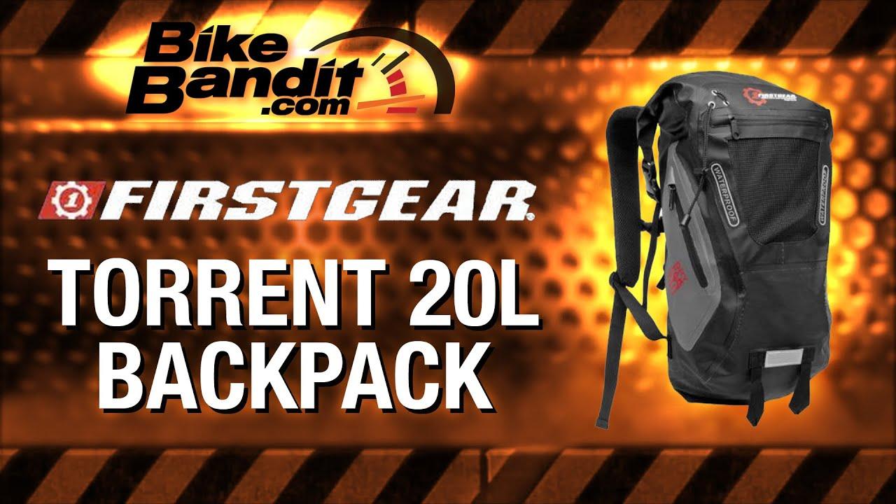 Firstgear Torrent 20L Backpack at BikeBandit.com - YouTube